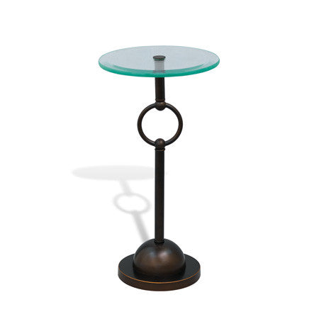 "Logan Bronze Accent Table 23""H"