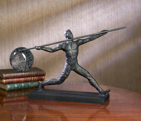 "Javelin Thrower 16"" W x 10"" H"