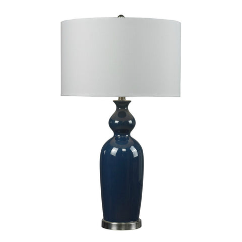 "Continental Azul Table Lamp 32"" H"