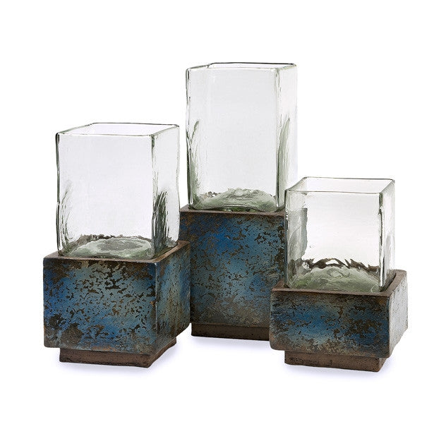 Azul Earthenware Hurricanes 3 sizes