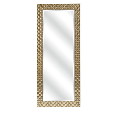 Golden Weave Wall Mirror