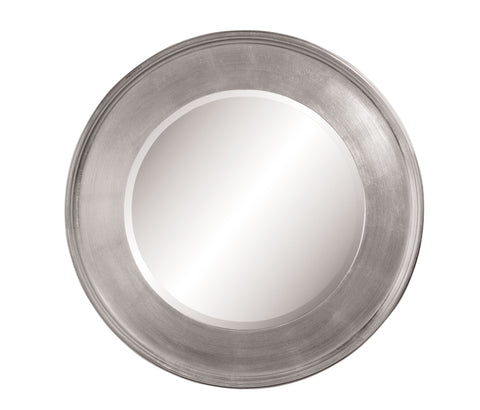 Silver Port Hole Wall Mirror
