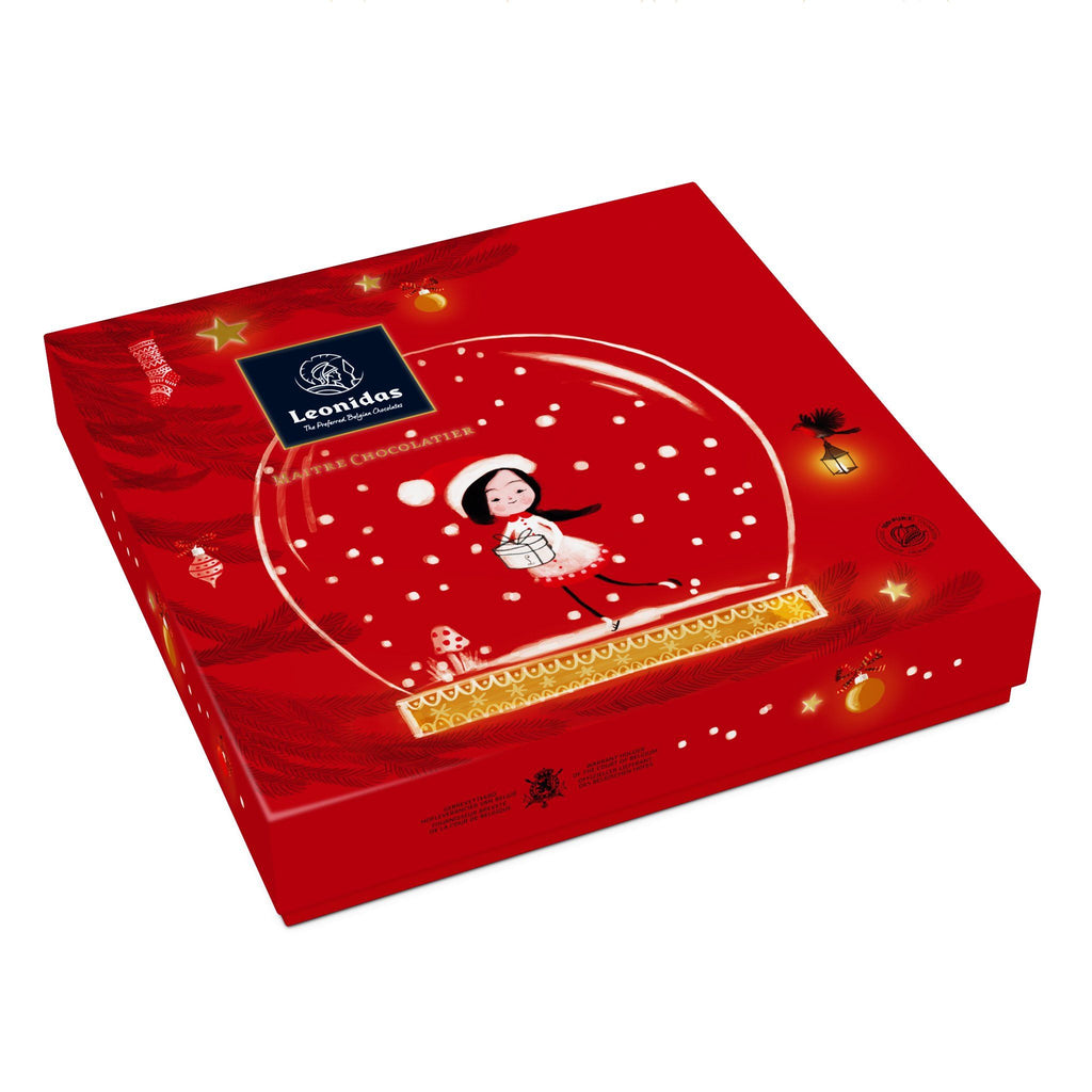 Christmas Gift Box Classic Leonidas Chocolates-uk