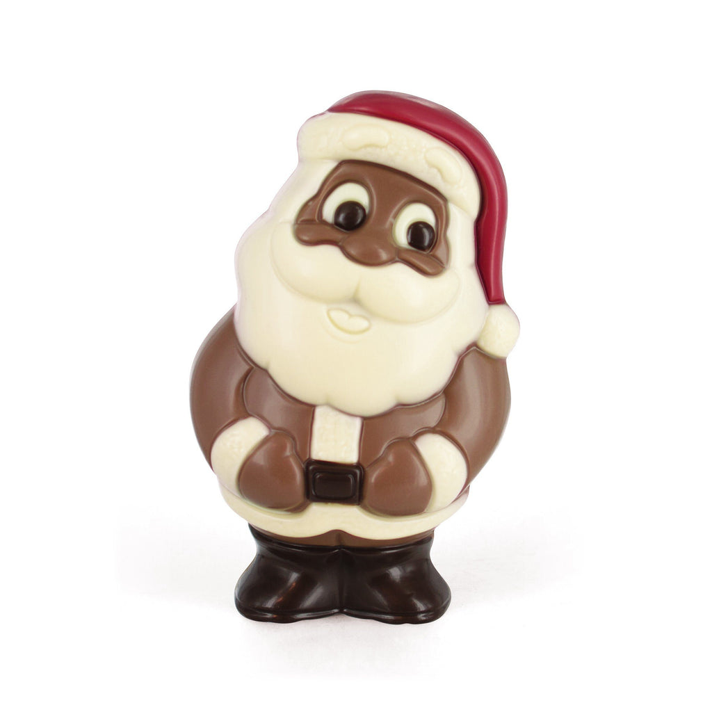 Christmas Santa Figurine Milk Chocolate (80gr) Seasonal Leonidas Chocolates UK