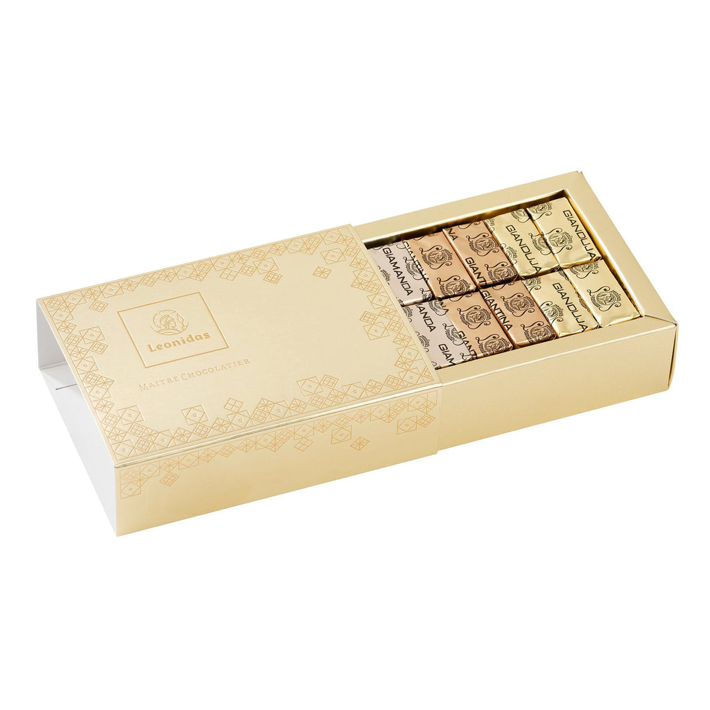 Gianduja Box 24 pralines Classic Leonidas Chocolates-uk