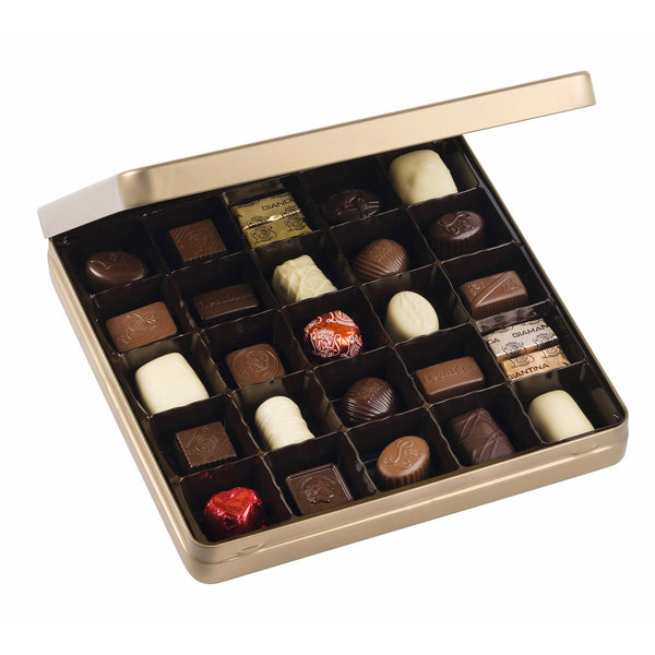Heritage Metal Box Classic Leonidas Chocolates UK