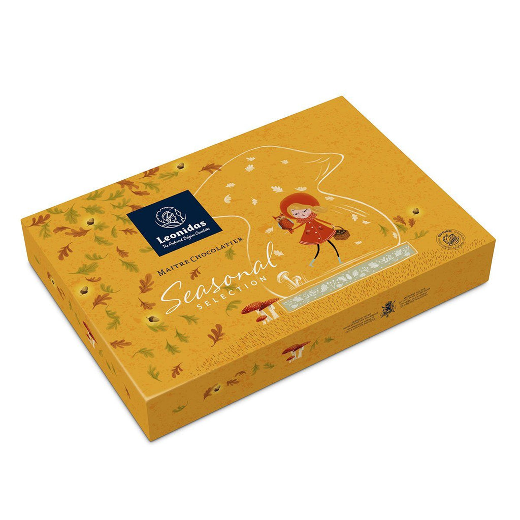 Leonidas Autumn Giftbox, 23pcs Classic Leonidas Chocolates-uk