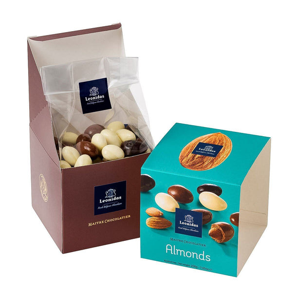 Leonidas Cube Almonds Confectionary Leonidas Chocolates-uk