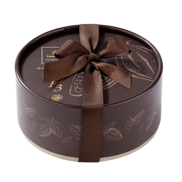 Leonidas Round Brown Dora Giftbox with Chocolates, 24pcs Leonidas Chocolates-uk