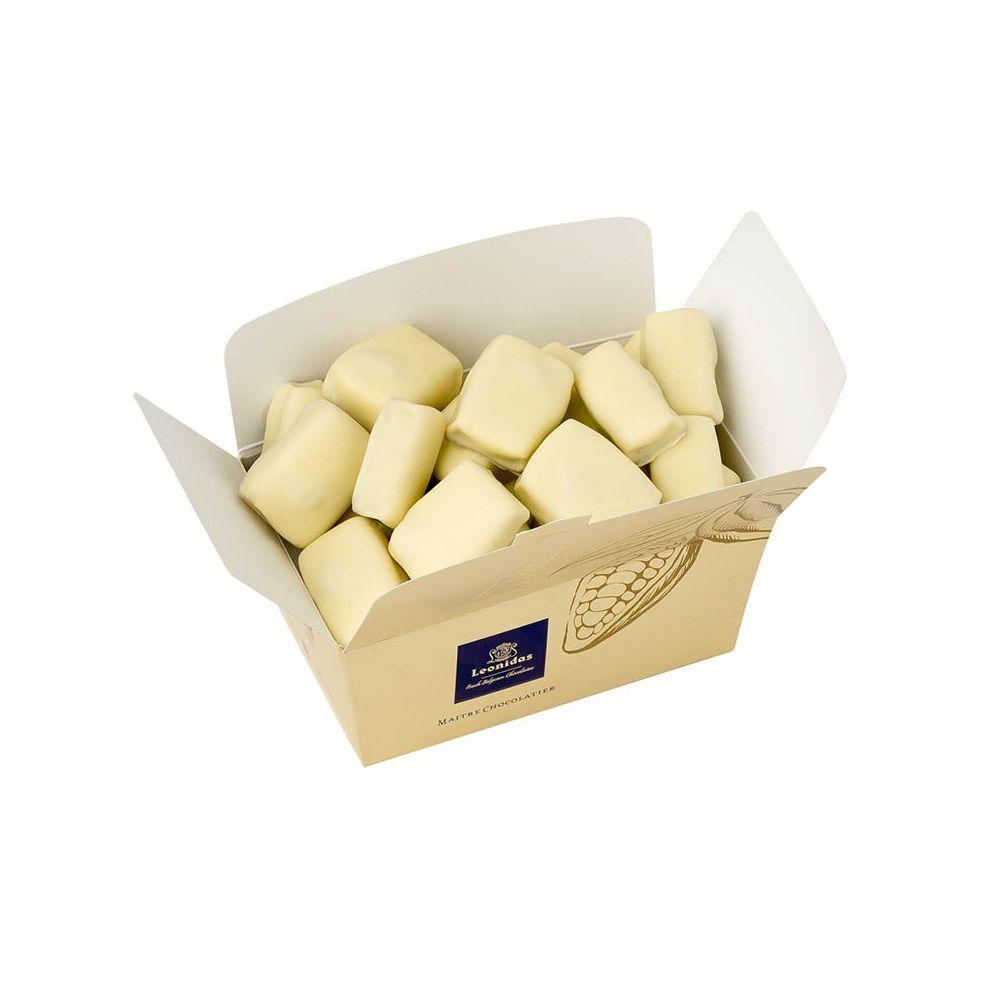 Manon Cafe White Ballotin Box Classic Leonidas Chocolates UK