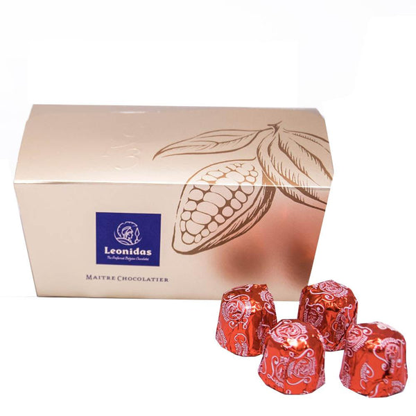 Premium Dark Cherry Liquor Ballotin Classic Leonidas Chocolates UK