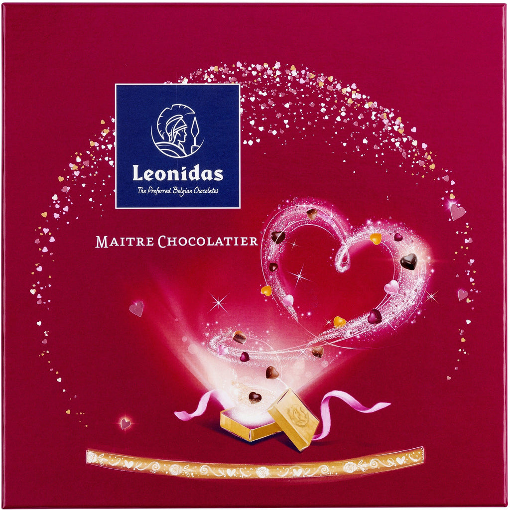 Red Zanzibar Box (190gr) Classic Leonidas Chocolates UK