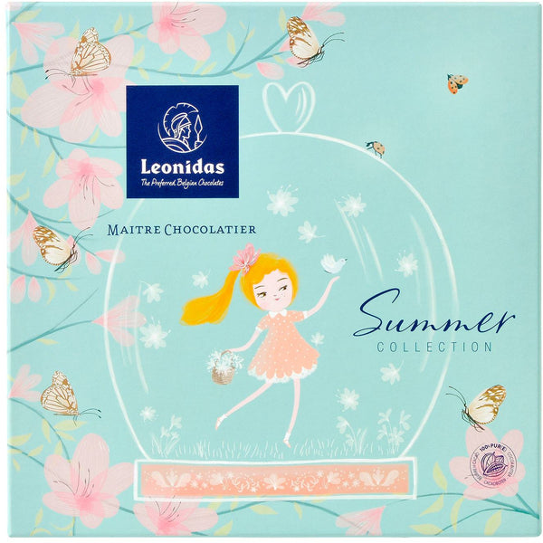 Summer Box 16pcs Seasonal Leonidas Chocolates UK