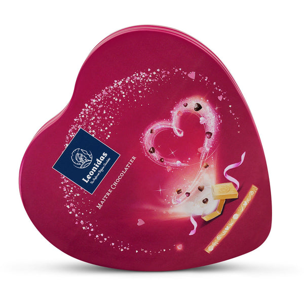 Valentine's Heart (115gr) Leonidas Chocolates UK