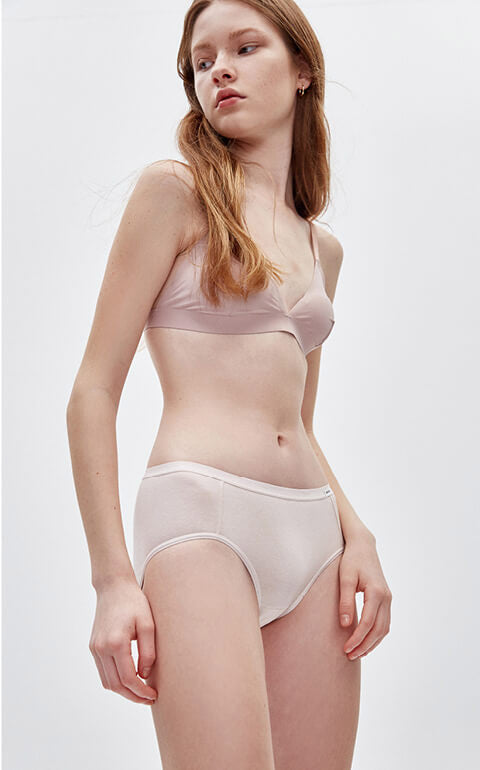 Classic • Mid Rise Cotton Brief Panty
