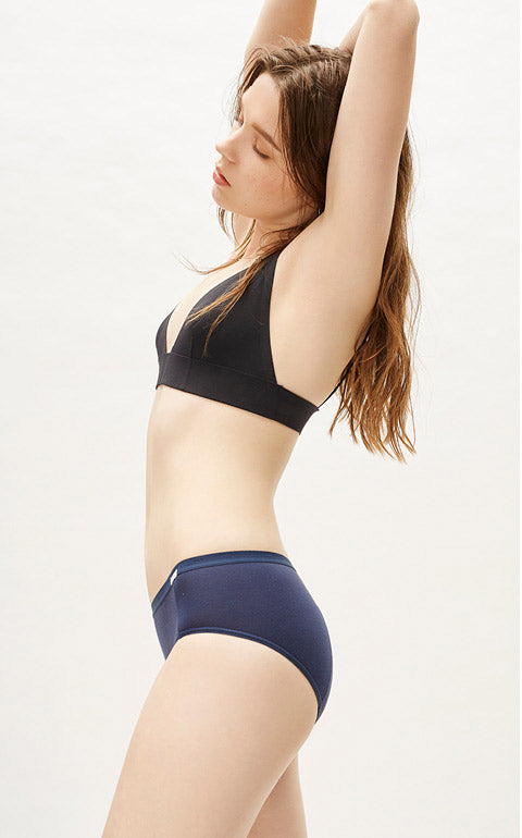 Comfy • Mid Rise Cotton Menstrual Brief Panty