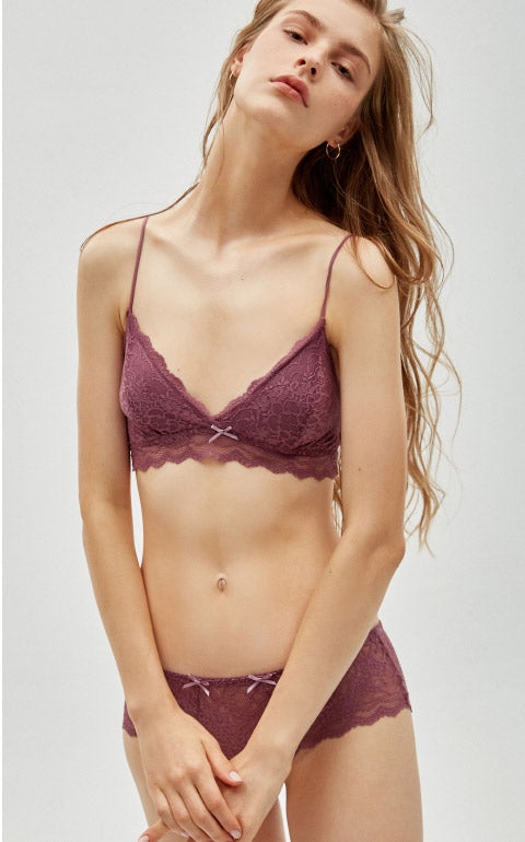 French Romance • Lace Bralette