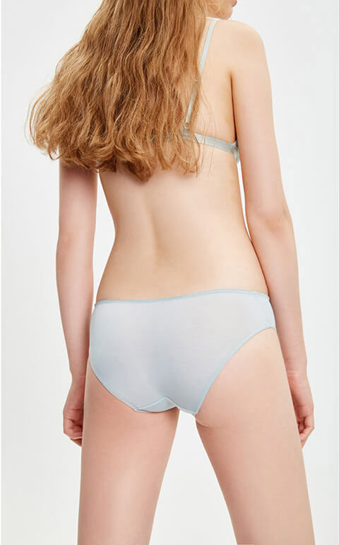 Cool • Mid Rise Hipster Panty - Peach Fleur
