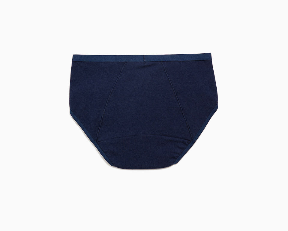 Sleep Tight • Mid Rise Cotton Menstrual Brief Panty