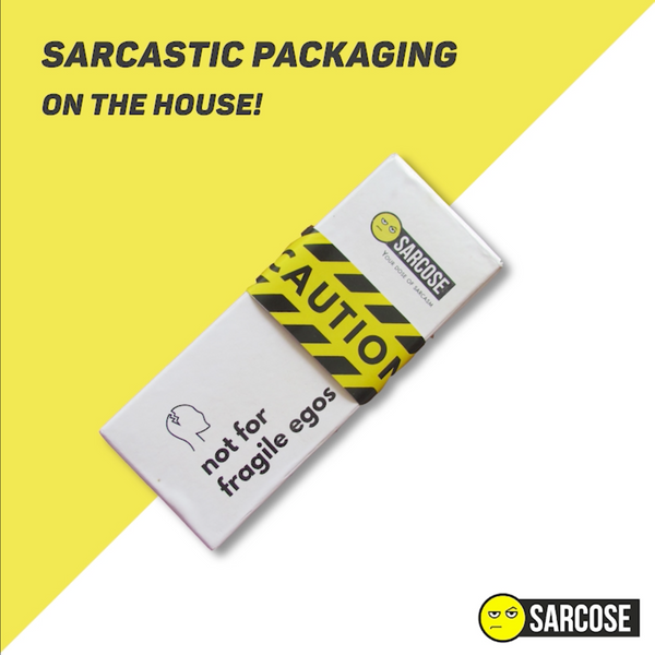 Sarcose Sarcastic Packaging