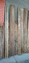 Load image into Gallery viewer, Lot of Rustic 1x12 Barn boards-250+ sq ft, reclaimed from Ferndale Bowling Alley Bar Wall