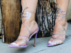 Mermaid Clear Heel