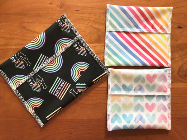 Reusable Snack Bags, Make Your Own Snack Set