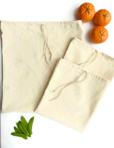 Bulk Shopping Bags, Reusable Produce Bags