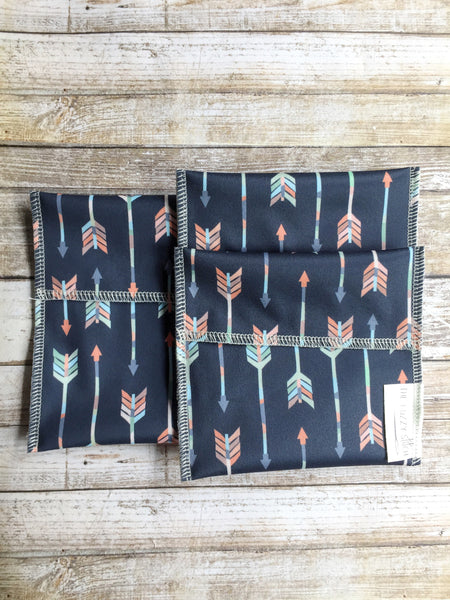 Arrow Snack Bag Set