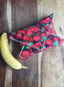 Reusable Sandwich Wrap, Strawberries Food Wrap
