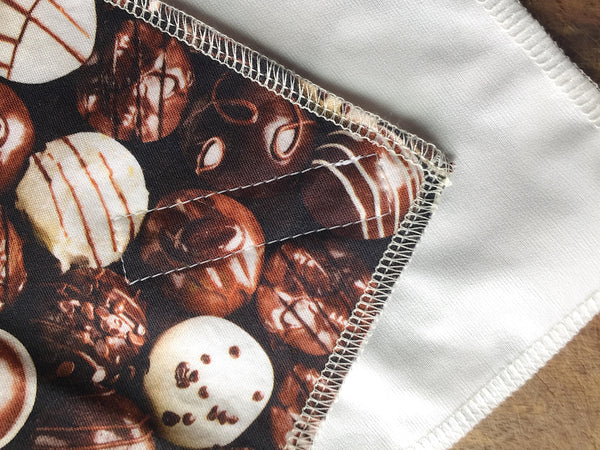 Reusable Sandwich Wrap, Chocolates Food Wrap