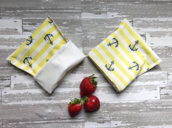 Reusable Lunch Bags, Anchor Reusable Snack Bags