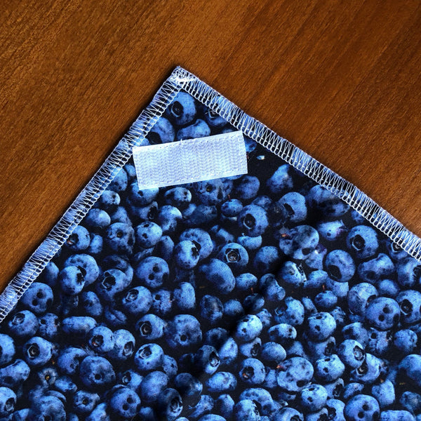 Reusable Sandwich Wrap, Blueberries Food Wrap