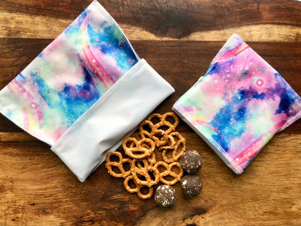 Reusable Snack Bags, Space Snack Bgs