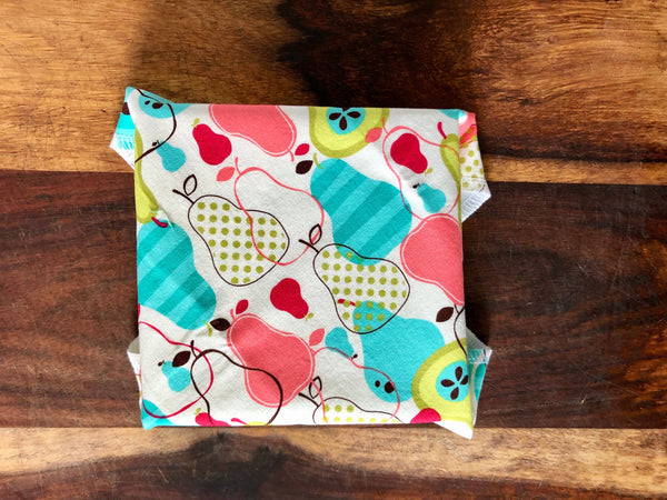 Reusable Food Wrap, Abstract Pears Sandwich Wrap