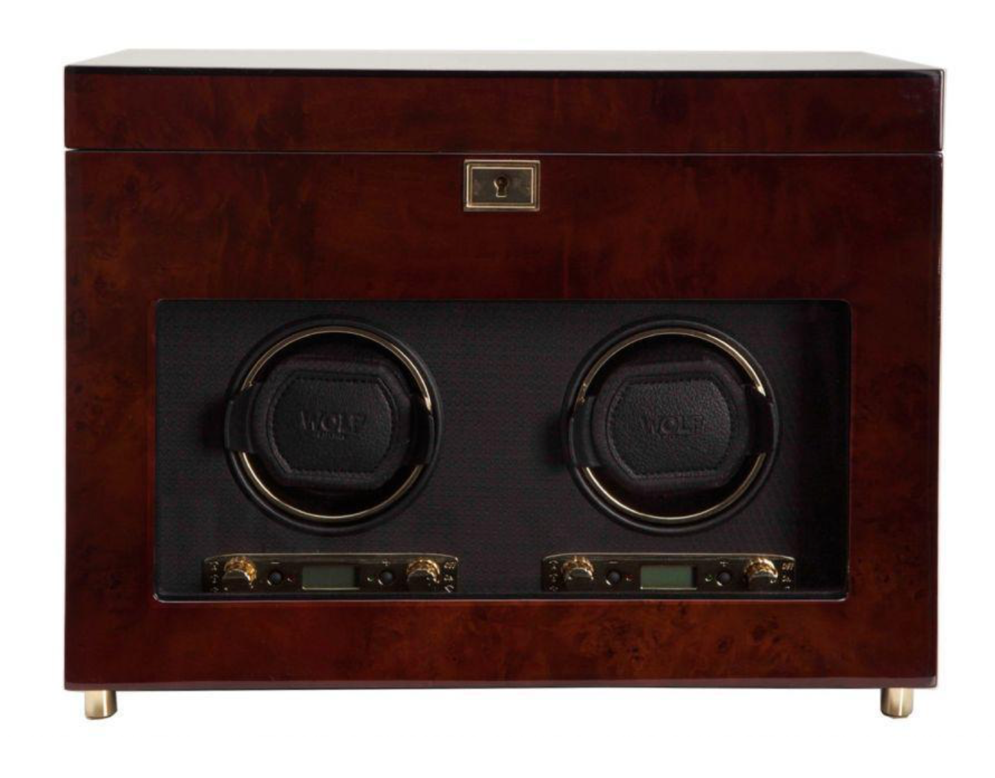 WOLF Savoy Double Watch Winder