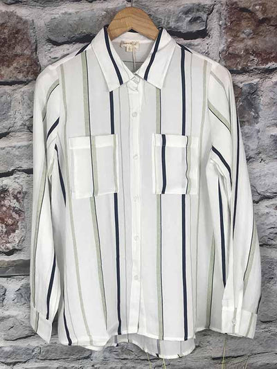 Stripe Button Down Shirt