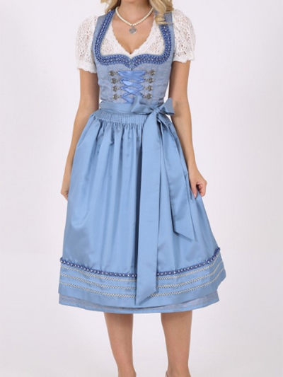 Elegant Blue Princess Dress