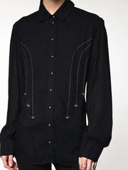 Vintage Button Long Sleeve Shirt