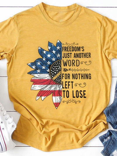 Sunflower Freedom's Merica T-shirts