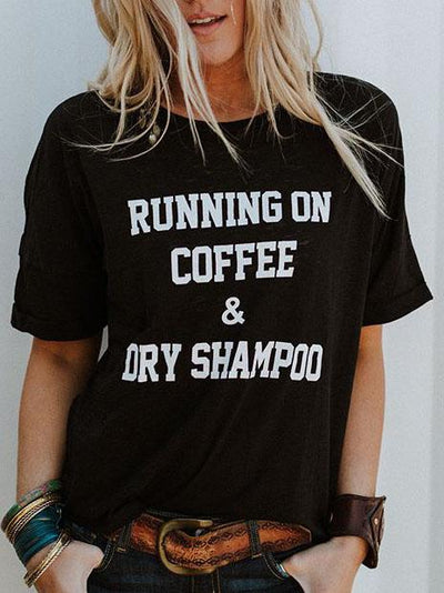 Running On Coffee T-Shirt