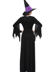 Lady Halloween Witch Dress