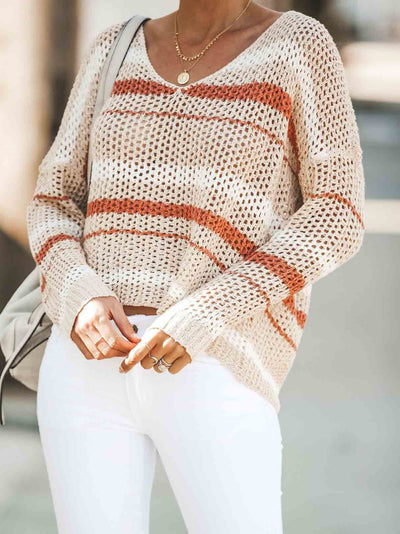 Striped Loose Sweater