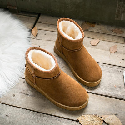 Women's fur one classic short snow boots