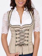 Womens Cute Solid Color Corset
