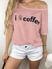 I Love Coffee Graphic T-shirts