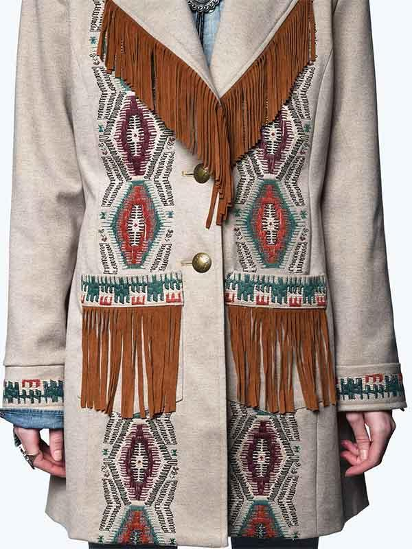 Fringed Vintage Jacket
