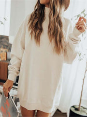 Fashion High Collar long Sleeve Sweater