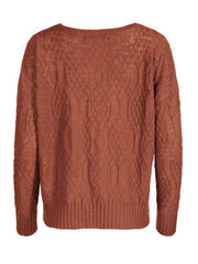 Solid Color Casual Pullover