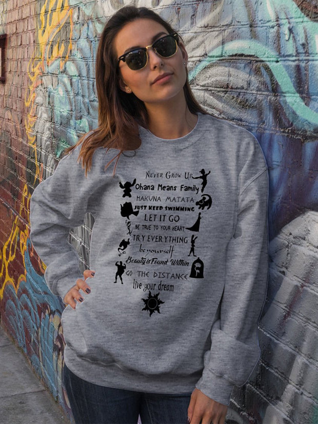Disney Limited Edition Long-Sleeved Sweater